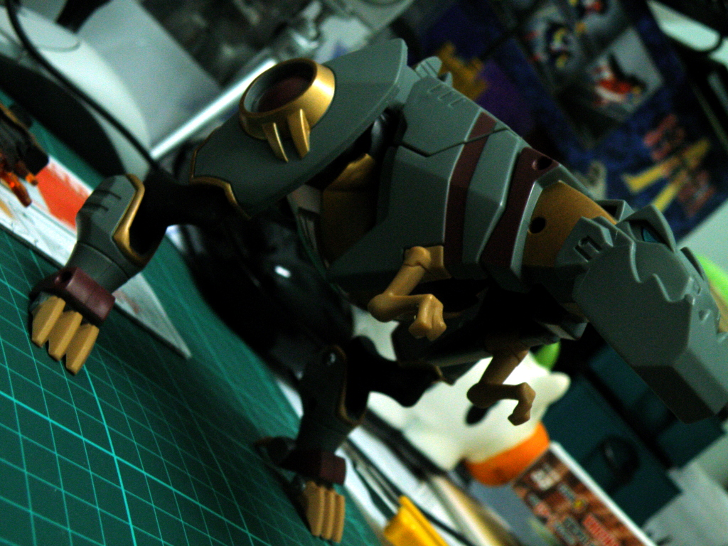 Grimlock dino mode overall view
