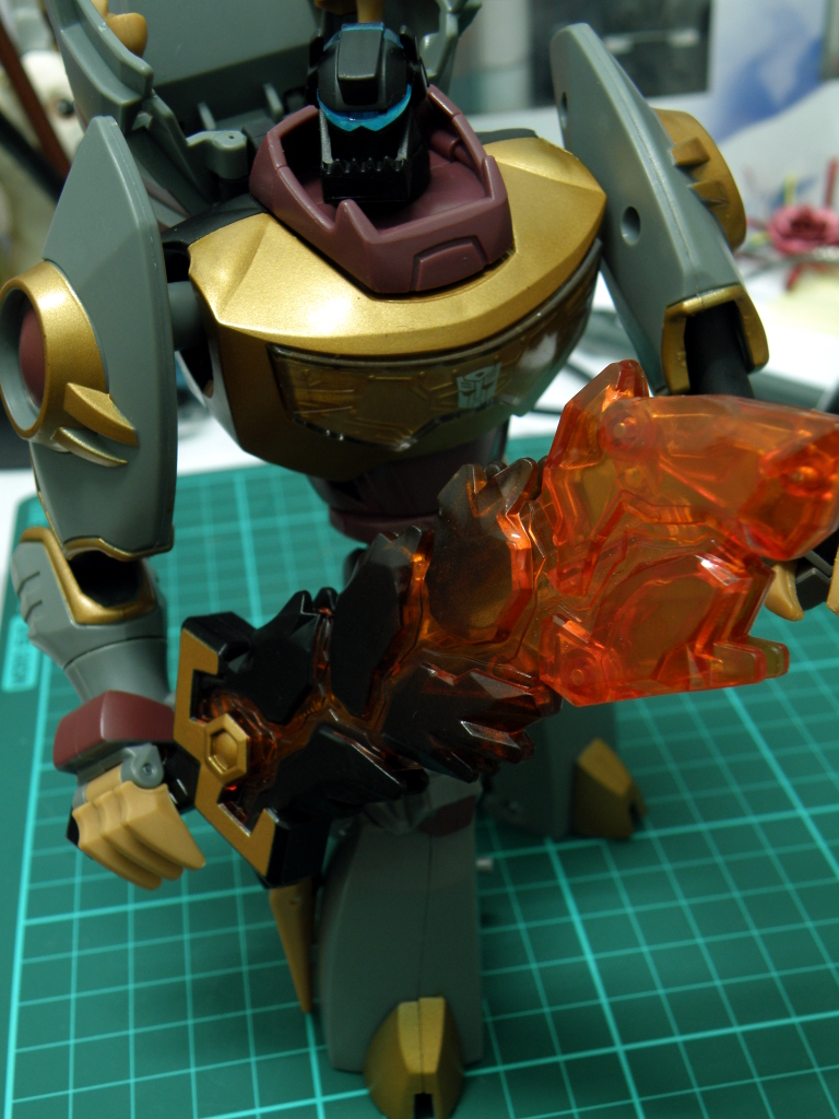 Grimlock robot mode with sword