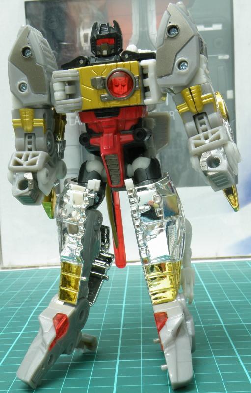 Grimlock robot front