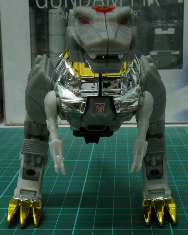 Grimlock Dino Front View