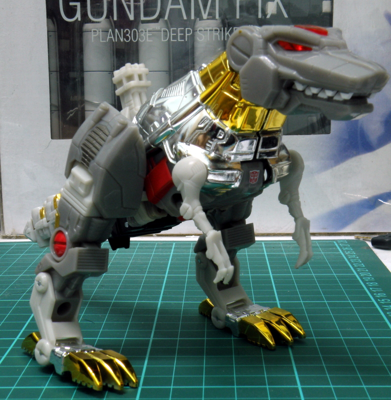 Grimlock dino overall front