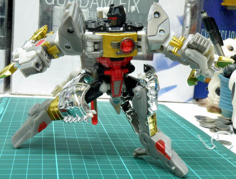 Grimlock robot articulation.