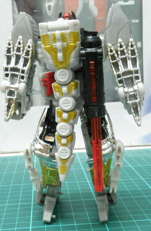 Grimlock robot back