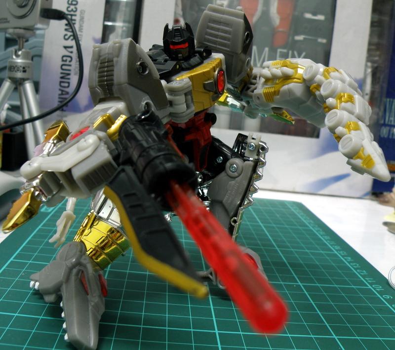 Grimlock robot pose