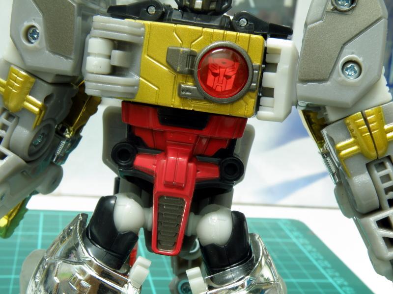 Grimlock torso details
