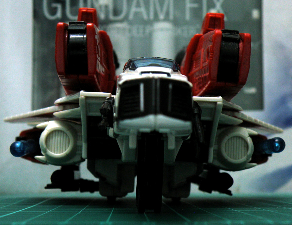 JetFire Jet mode fully armed