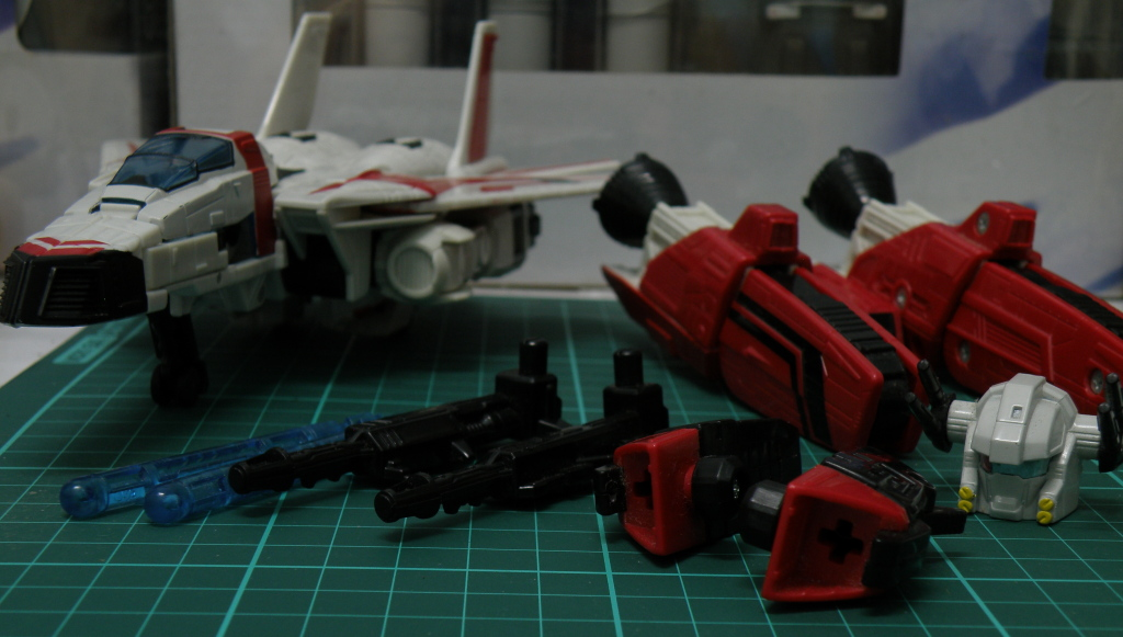 JetFire with armaments detached