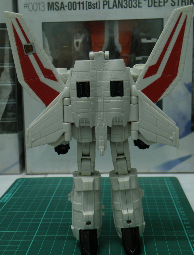 JetFire robot mode back without backpack