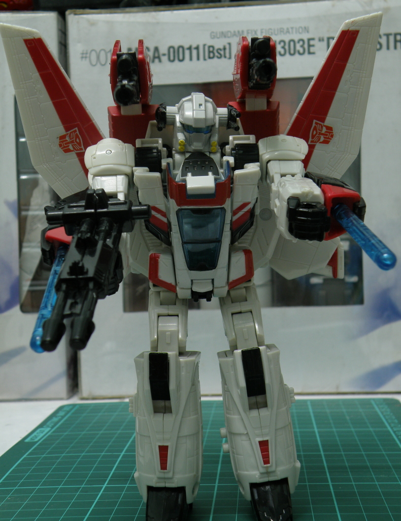 JetFire robot mode full armament armed