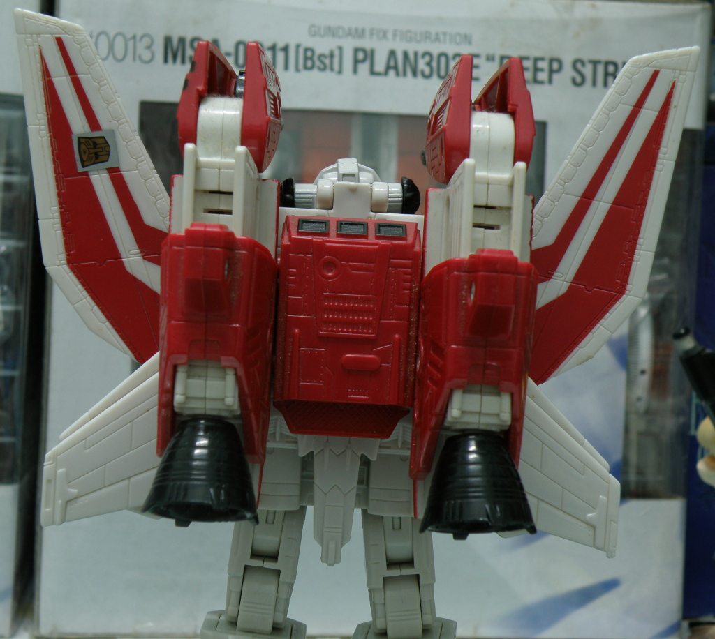 JetFire back view of the backpack/booster