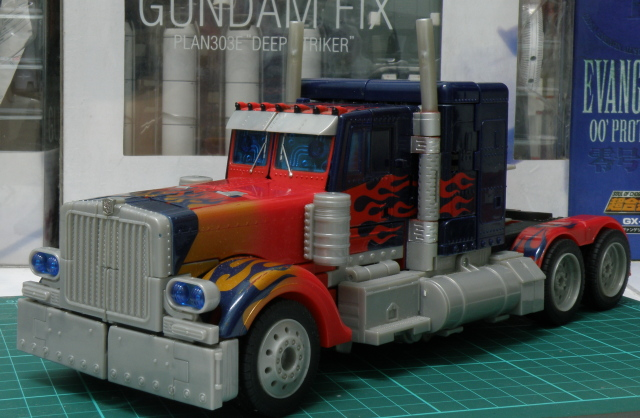 Optimus Prime truck mode front view