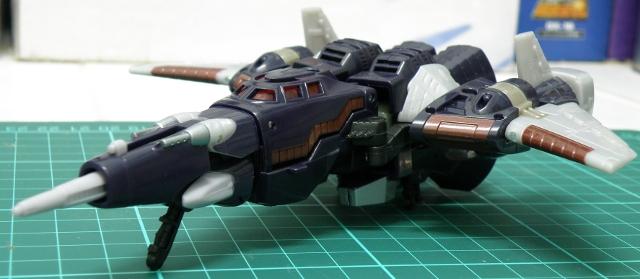 Cyclonus Cybertronian Jet fron details.