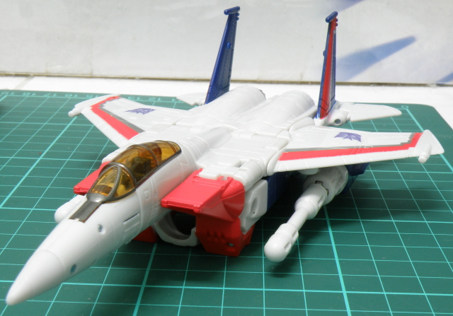 Starscream F16 frontal prespective