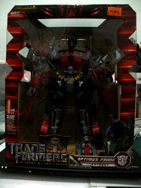 Optimus Prime Leader Class ROTF