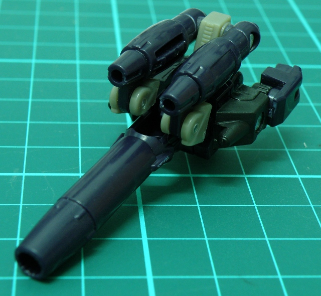 NightStick transformed to gun.