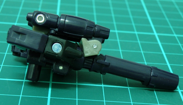 NightStick gun mode view from side.