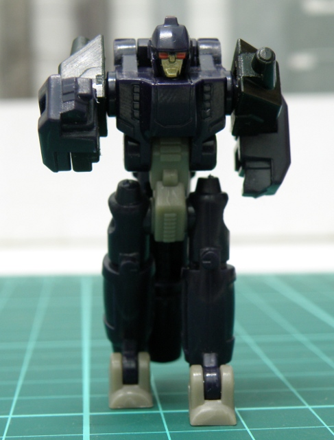 NightStick robot mode posing.
