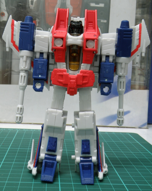 Starscream front view