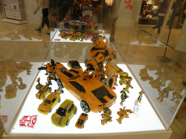 BumbleBee and more BumbleBees.