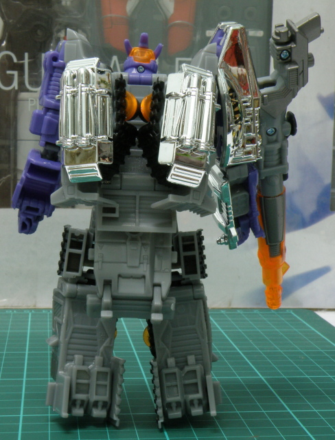 Galvatron robot back pack.