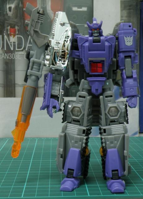 Galvatron Robot mode front.