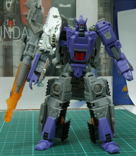 Galvatorn robot mode neutral post.