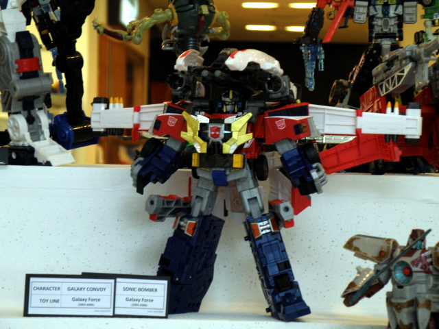 Galaxy Optimus Prime merged with Jetfire.