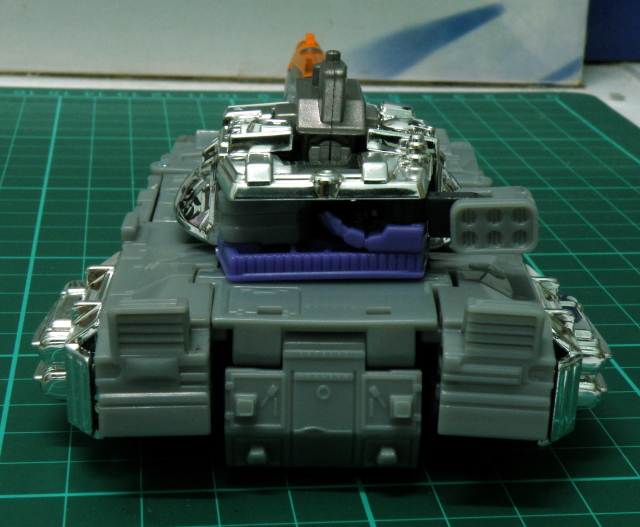 Galvatron tank mode back.