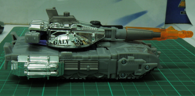 Galvatron tank right side.