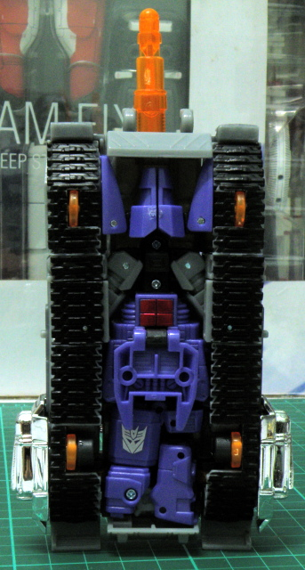 Galvatron tank underbelly.