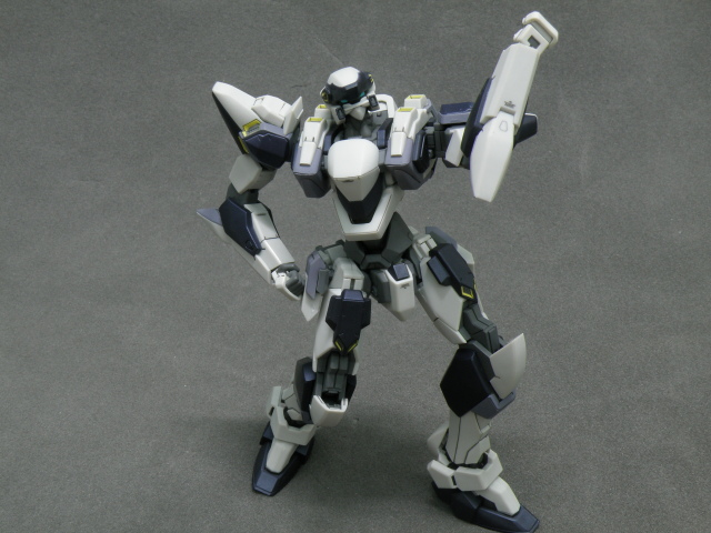 Alter ARX-7 disco pose.