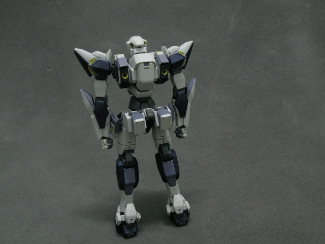 ARX-7 back view standing pose.