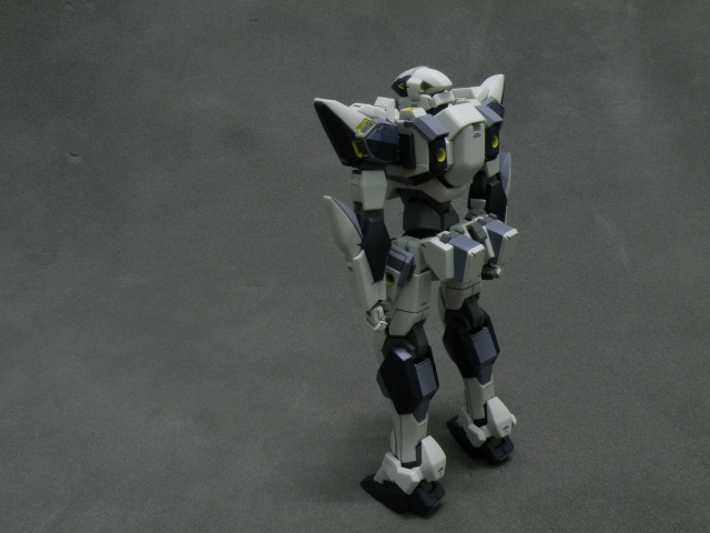 Alter ARX-7 Arbalest standing back view.