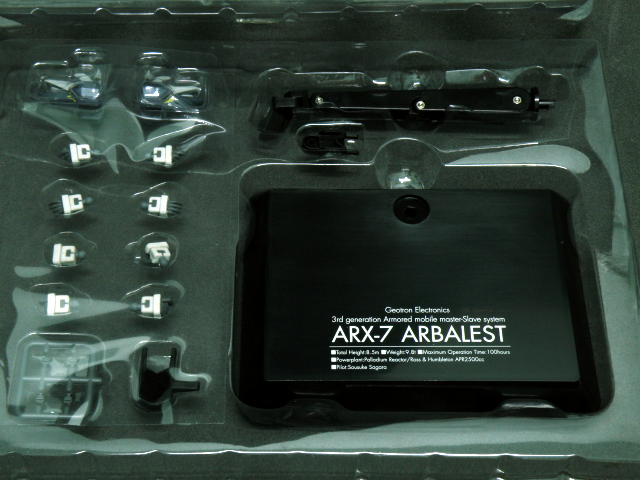 Alter ARX-7 Accessories.