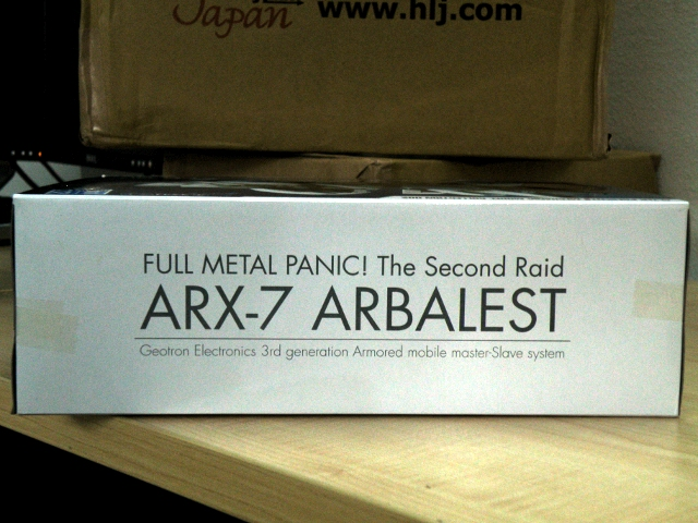 Alter Arbalest top side of package.