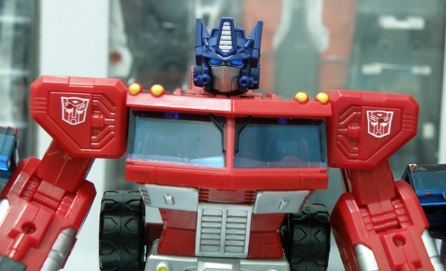 Henkei Convoy Head front view.