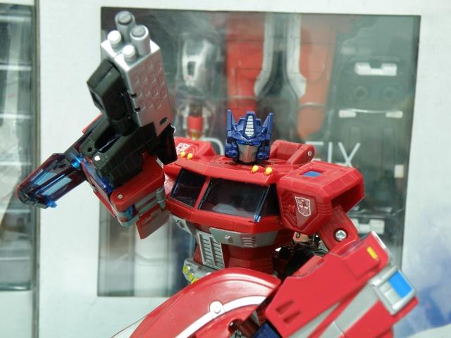 Henkei Convoy Robot mode.