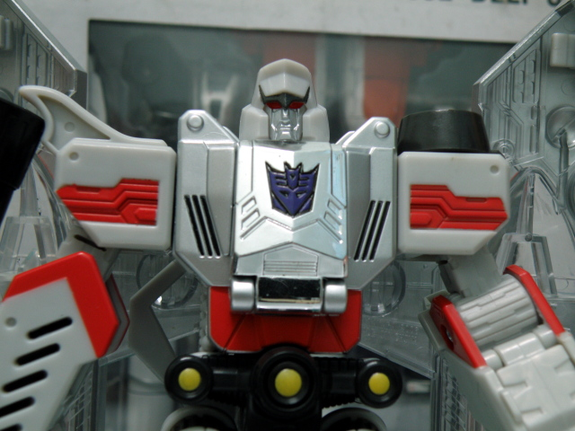 Henkei Megatron head chest.
