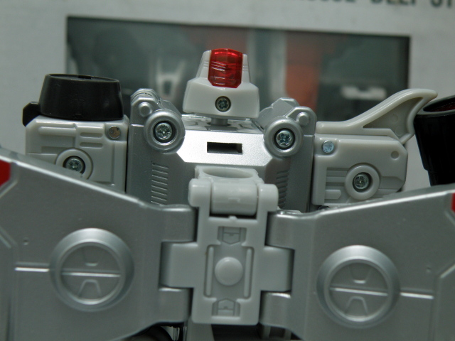 Henkei Megatron head back view.