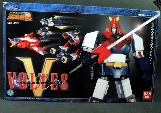 SOC Voltes V box front view.