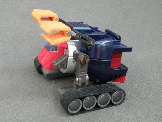 Volt panzer robotic arm extended.
