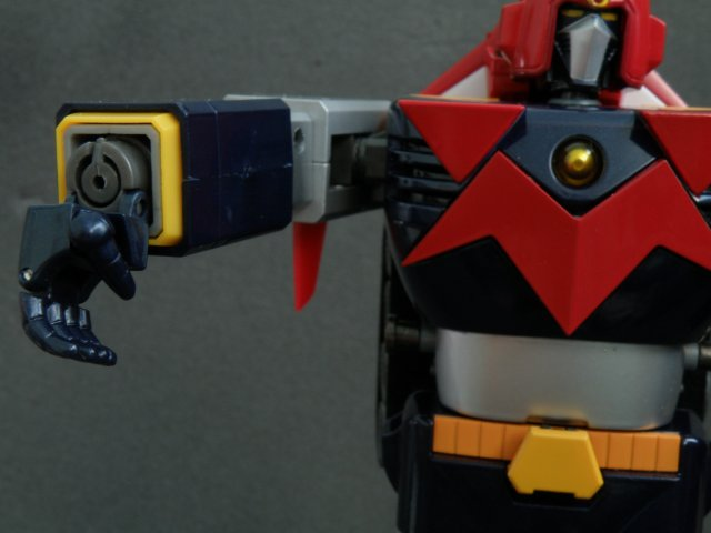 Voltes V arm cannon step 2.