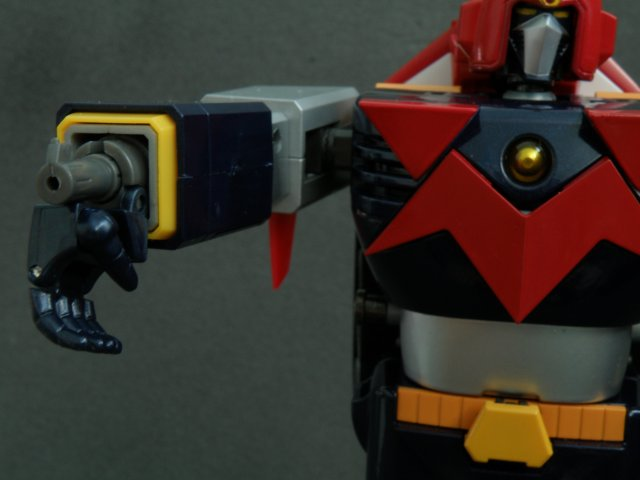 Voltes V arm cannon step 3.