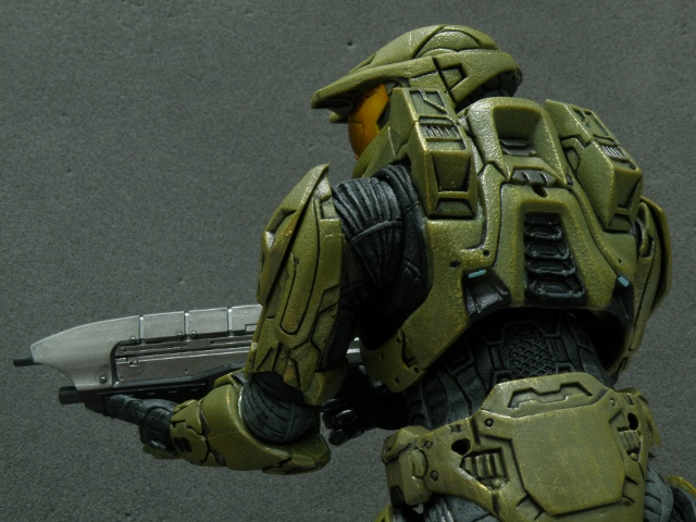 MasterChief BackView.