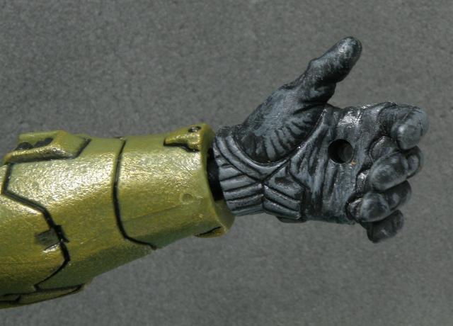 MasterChief Left hand.