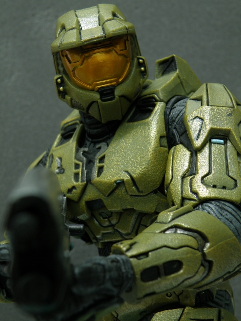 Master Chief Strike pose 1.