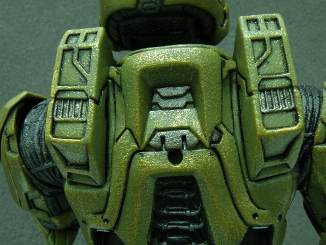 MasterChief armor back rifle attachment hole.