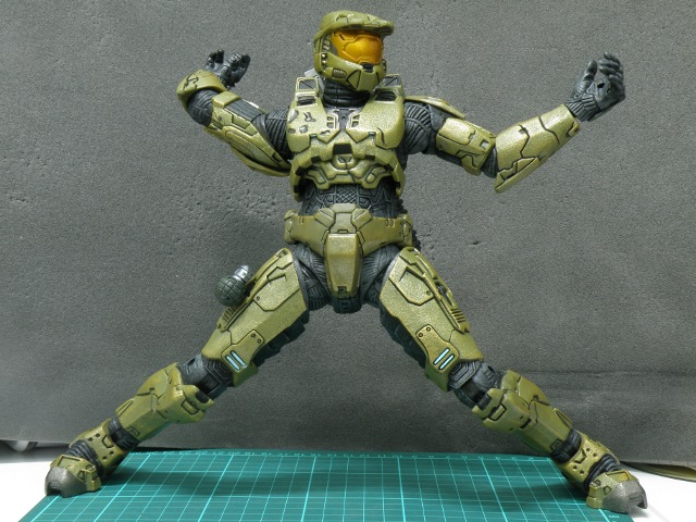 MasterChief articulation limits.