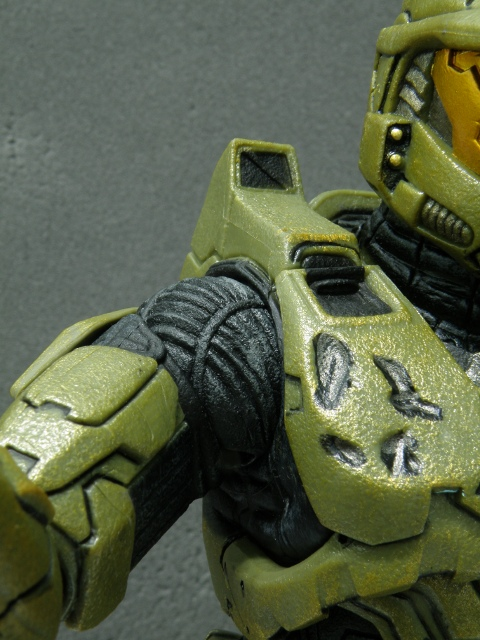 MasterChief shoulder joint details.