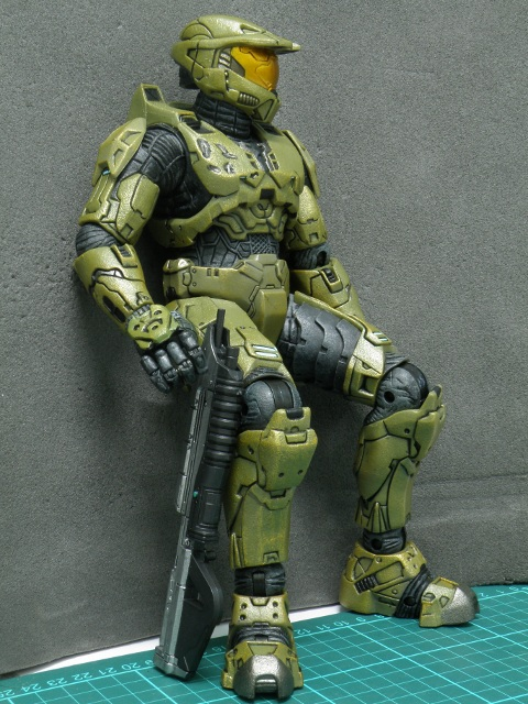 MasterChief a veteran soldier also needs a rest.